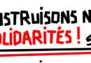 Le Tract SUD éducation Loiret d'Octobre : «Construisons nos solidarités»
