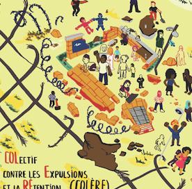 Non aux CRA ! Manifestons à Orléans samedi 27 mars 14h, Place de Loire