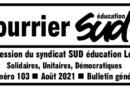 Courrier SUD n°103 – journal de SUD éducation Loiret – rentrée 2021